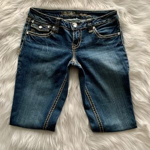 ZCO jeans Blue with Rhinestones - Size 7